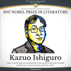 Reloaded twaddle – RT @NobelPrize: BREAKING NEWS The 2017 #NobelPrize in Literature is awarded to t...