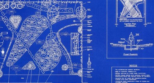Piano Garden Blueprint