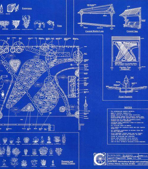Piano Garden Blueprint